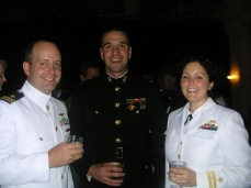 As a member of the Secretary of the Navy's office in the summer of 2003.